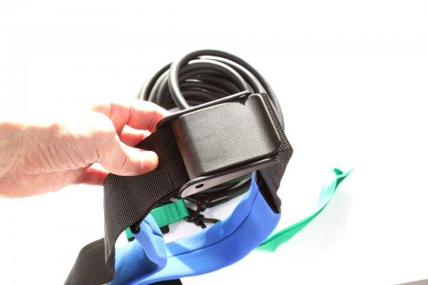 Удобная пряжка пояса тренажера для плавания Power swim 2