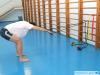 упражнение на резиновом тренажере для развития силы гребка