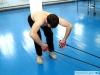 """""""Руки дельфин"""" - упражнение на резиновом тренажере для развития силы гребка"""