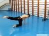 Окончание гребка в упражнении на резине Dry Swim