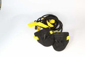Тренажер с лопатками для плавания на суше