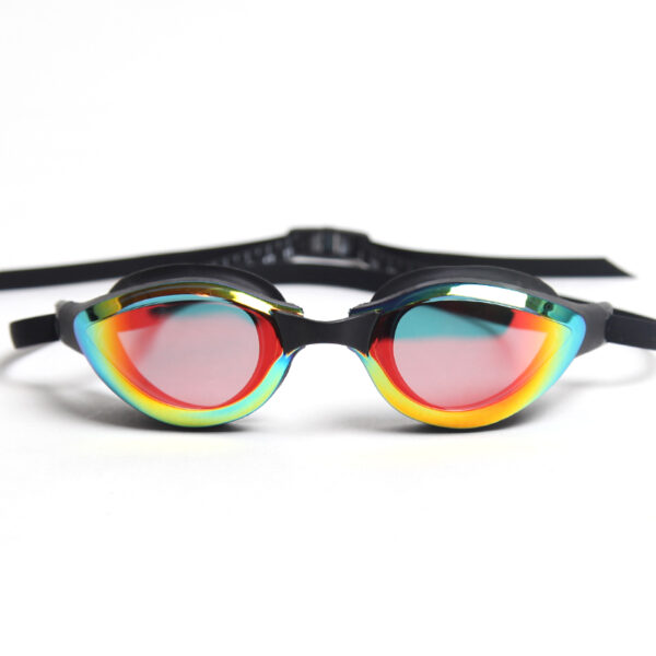 очки для плавания зеркальные